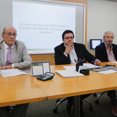 Reunião da Diretoria Nacional – 27 de Abril 2017