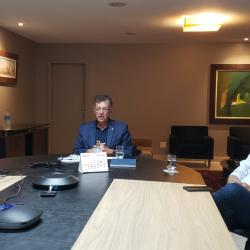 Em reunião com Guedes, Cebrasse demonstra  preocupação com IVA com alíquotas diferenciadas