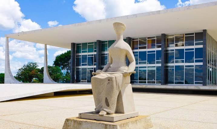 Entrada do STF, em Brasília
